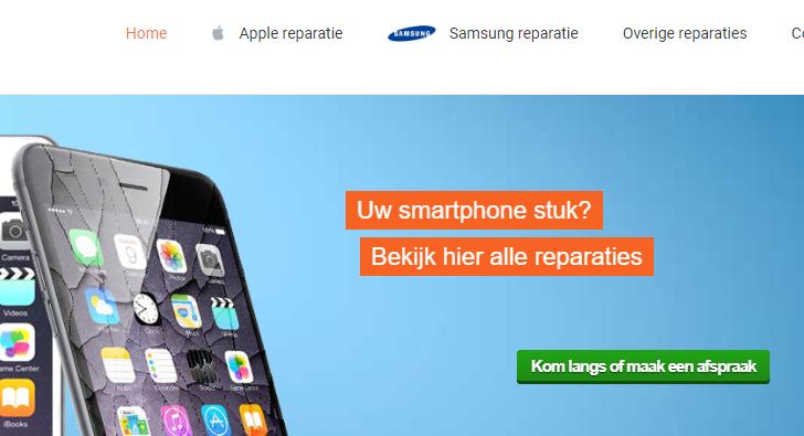 telefoon reparatie Breda